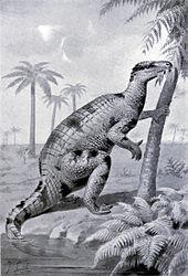 Iguanodon_feeding